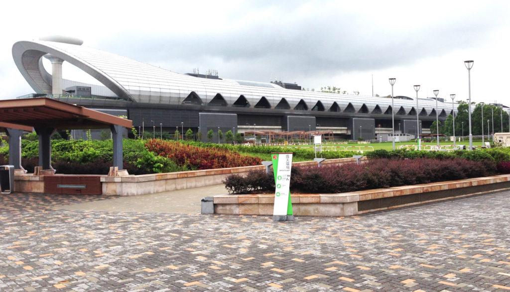 啟德跑道公園以航空及環保為主題,設計融入多項相關元素。