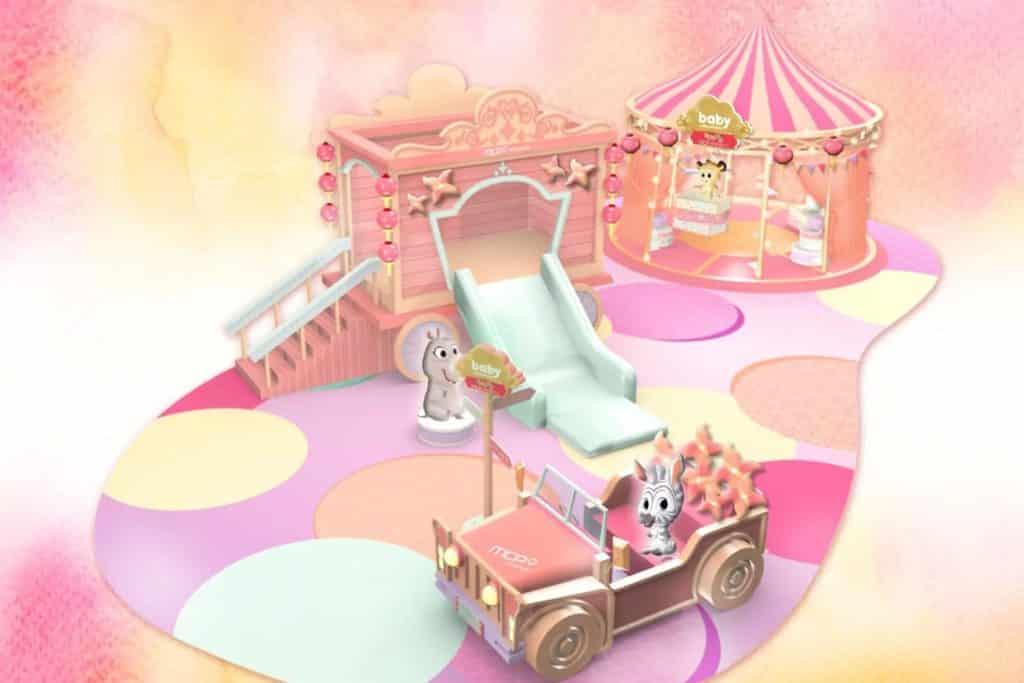 MCP DISCOVERY 以荒失失奇兵的馬戲團為主題,配以全粉色的馬戲團車及帳篷,非常吸睛。
