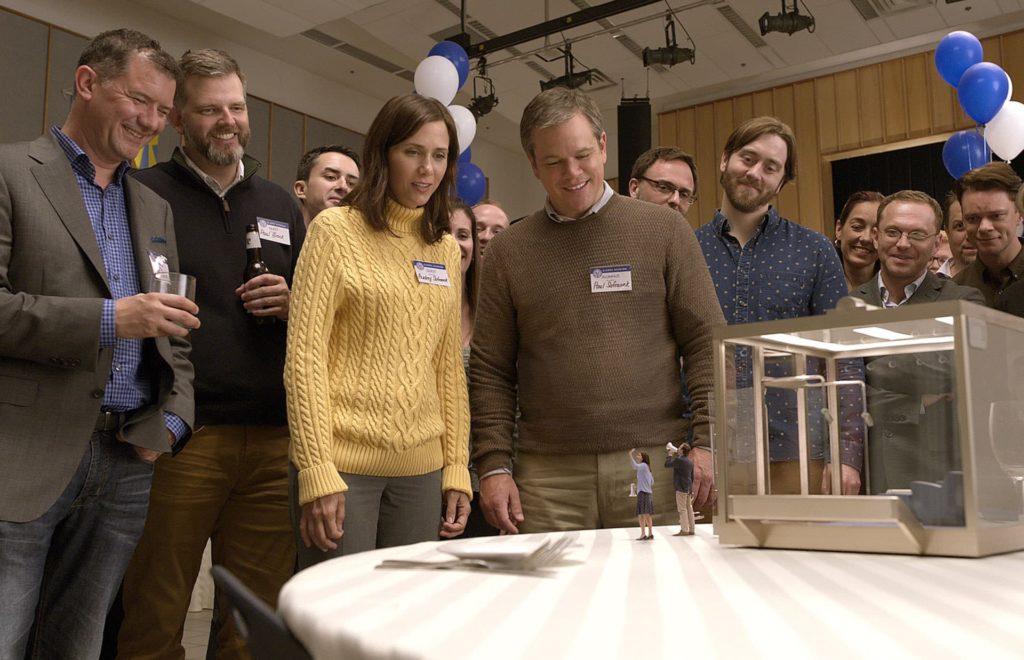 奧海城與電影《縮水人間》合作,將男主角麥迪文和女主角姬絲汀慧都變成「縮水」市民。