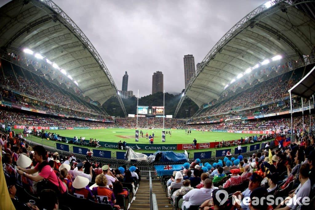 香港國際七人欖球賽 2018 將於香港大球場舉行。