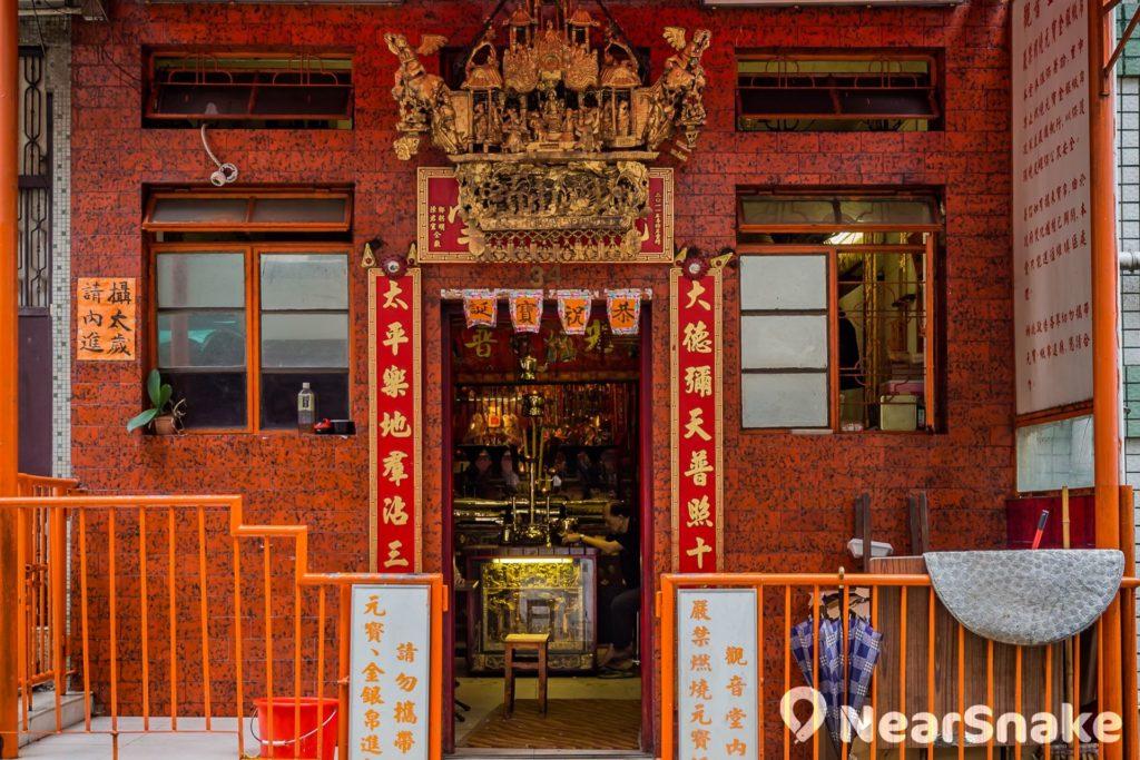 據說,香港觀音開庫傳統源於上環太平山街觀音廟。