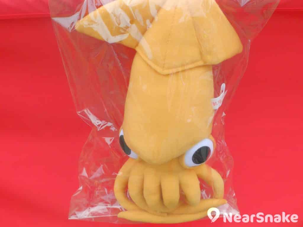 維園年宵特色產品:魷魚公仔