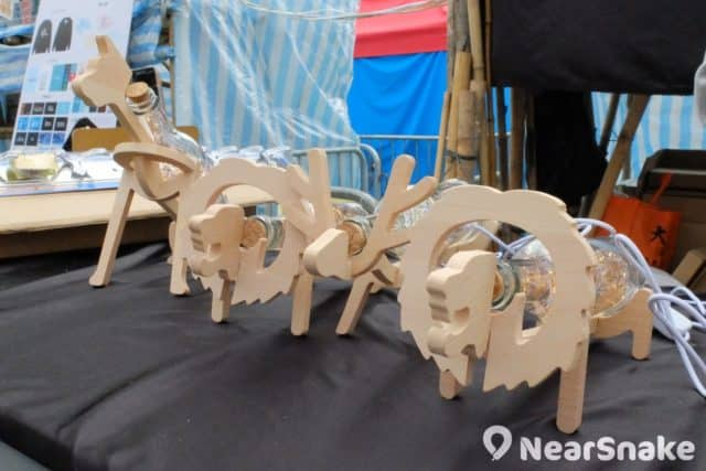 維園年宵特色產品:木造燈飾