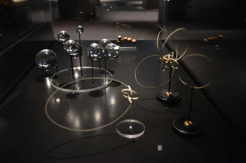 科技前瞻—創新材料石墨烯展覽第一區:過去