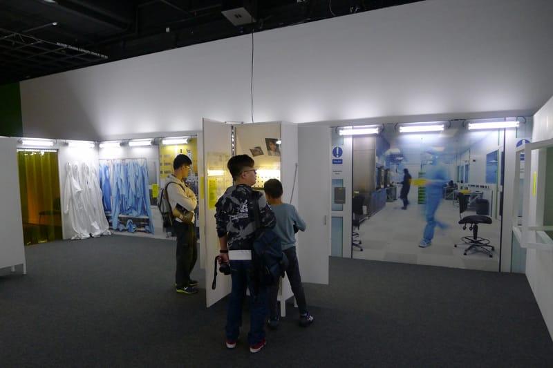 科技前瞻—創新材料石墨烯展覽第二區:現在