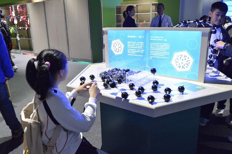 科技前瞻—創新材料石墨烯展覽第五區:超乎想像的二維材料