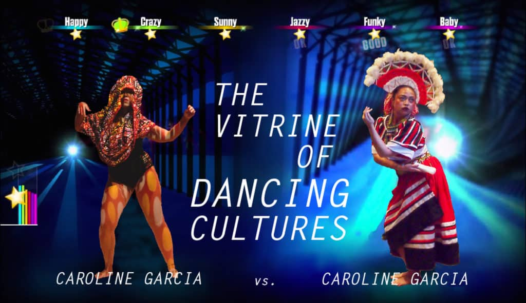 Caroline Garcia,《The Vitrine of Dancing Cultures》