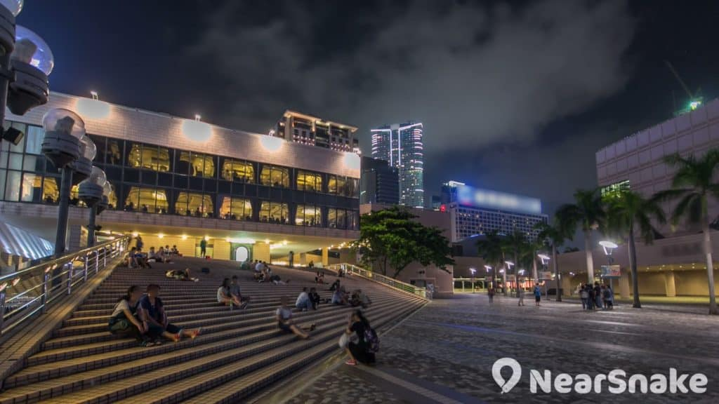 香港文化中心露天廣場
