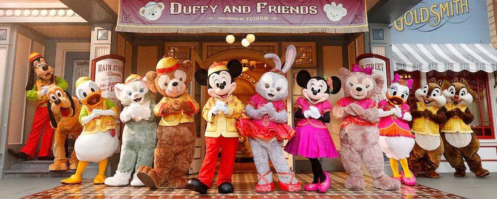 迪士尼新春市集 香港迪士尼樂園官方圖片