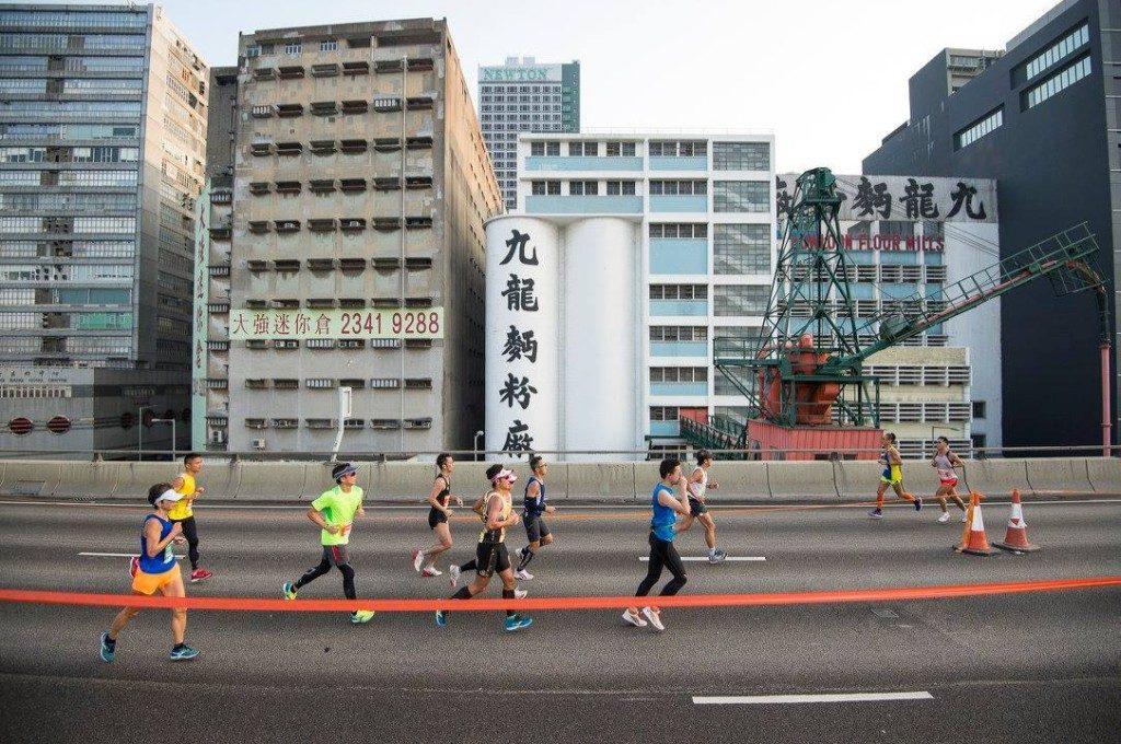 2018香港街馬@九龍賽事將首次於觀塘繞道上起跑。