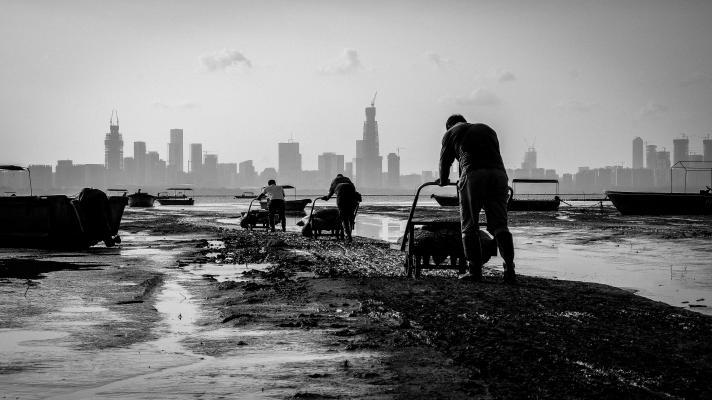 「香港人和事」組別第一名作品:香港精神•拍攝地點:白泥•得獎者:黃俊鏗