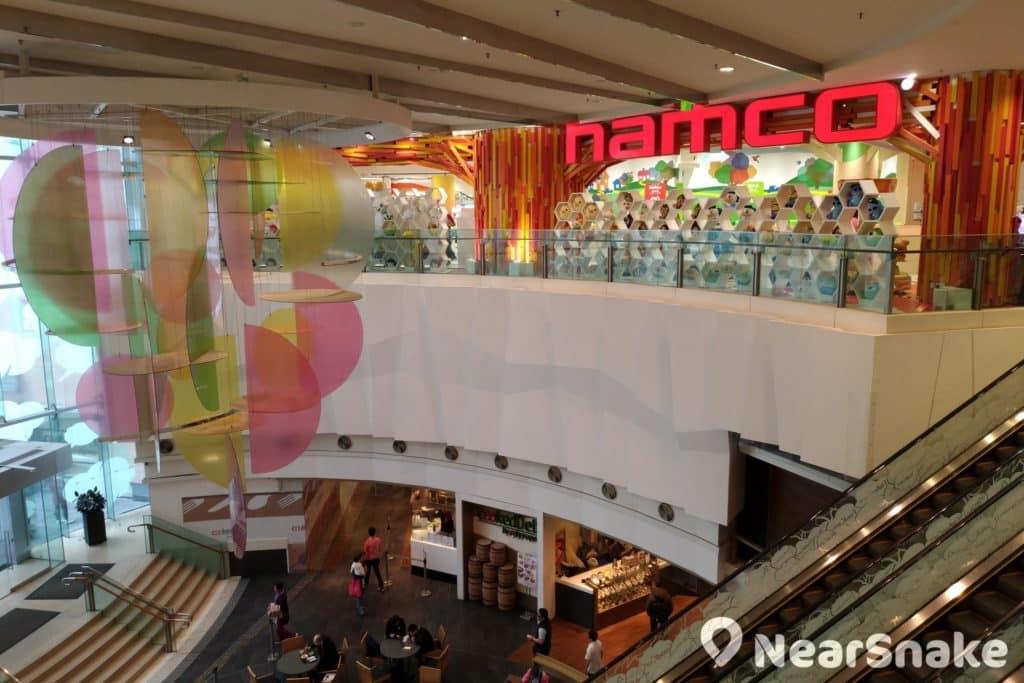 位於 PopCorn 商場內的 Asobi Park PLUS 室內遊樂場,為 NAMCO 在港開設的首家旗艦店,佔地達 6,000平方呎。