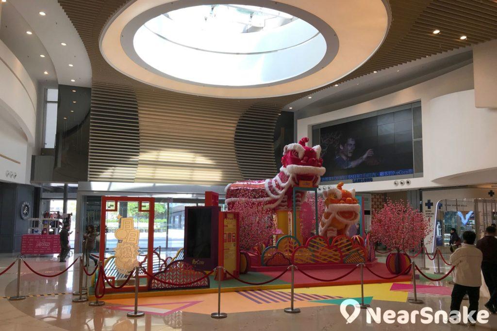 PopCorn 一期商場主中庭,主要用作展覽及表演用途。