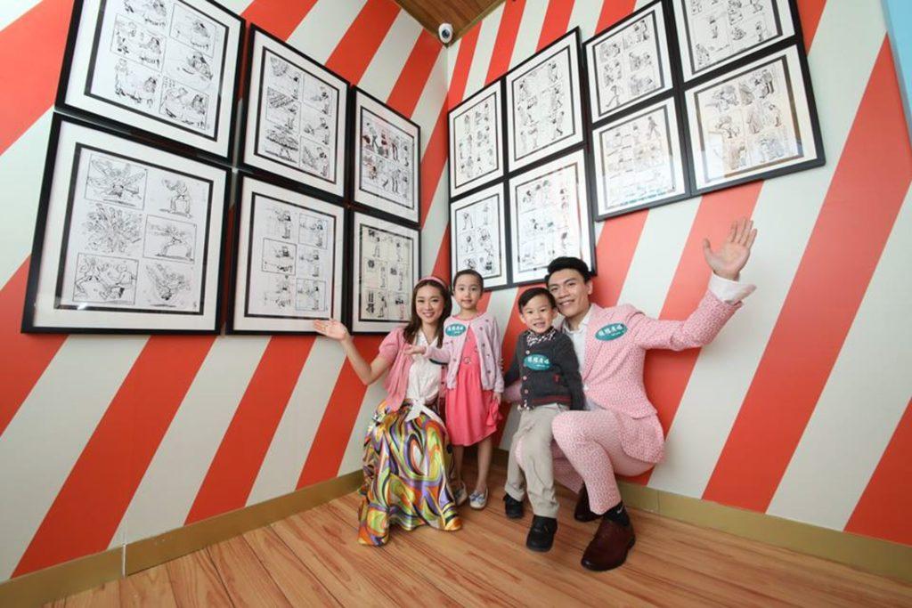 為期40天的展覽將展出約50幅「王澤父子」的老夫子經典手稿真跡作品。