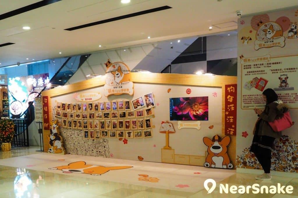 荃灣千色匯一期大堂的面積不大,商場內亦不設中庭;商場在一樓則有預留空間以供舉辦展覽或活動。