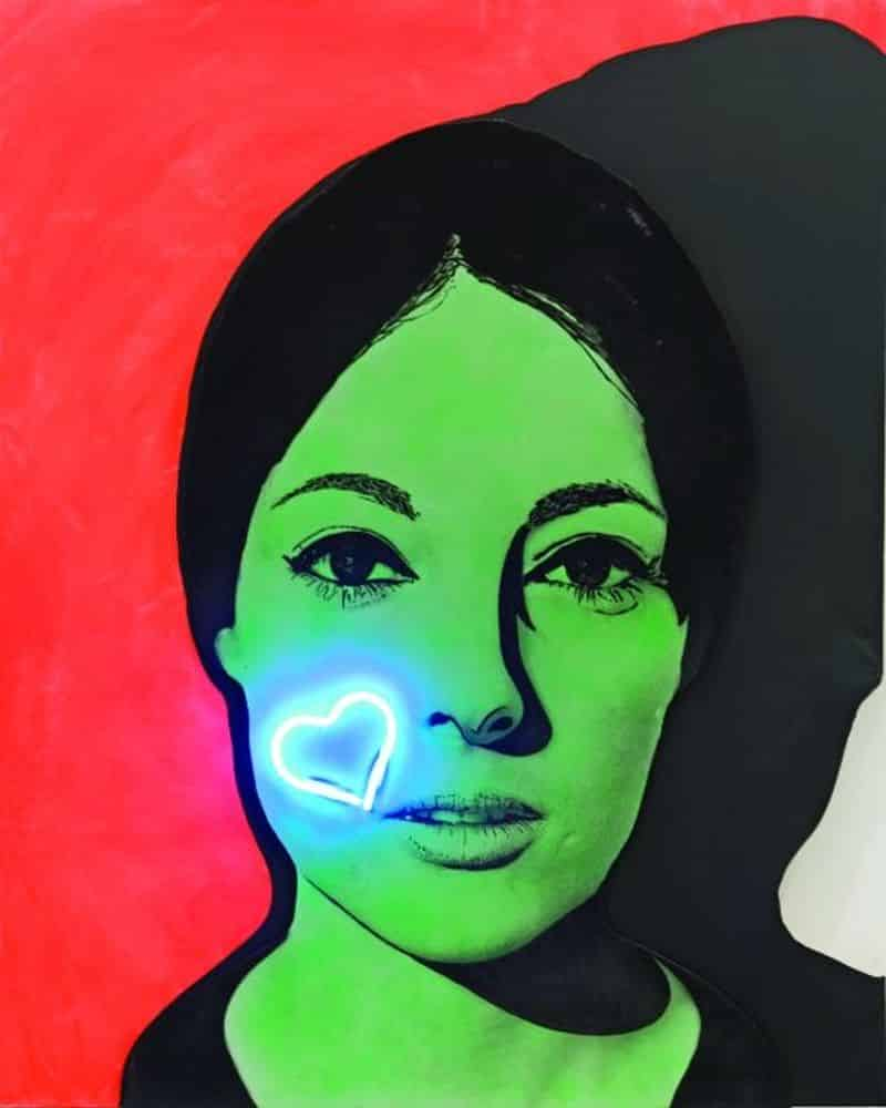 法國當代畫家馬歇爾.雷斯的作品《Nissa Bella》,被視為法國波普藝術的代表性作品之一。