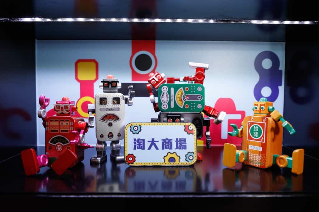 TinBot 鐵寶奇盒將聯同淘大商場其他商戶,分階段推出多款別注版鐵寶奇盒。