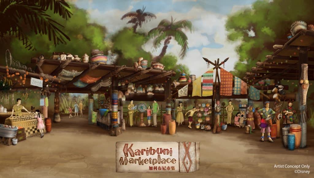 「迪士尼巨星嘉年華」- 加利布尼市集