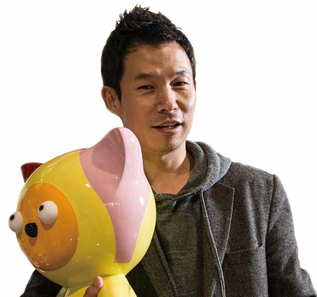 參與海港城「拉闊藝術」展覽的韓國藝術家盧濬
