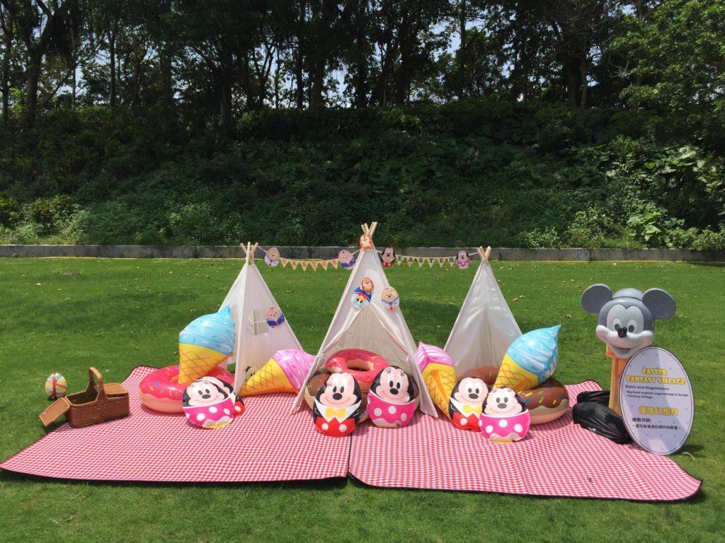 迪士尼花蛋亦會遍佈酒店角落,讓賓客齊齊投入尋蛋樂。