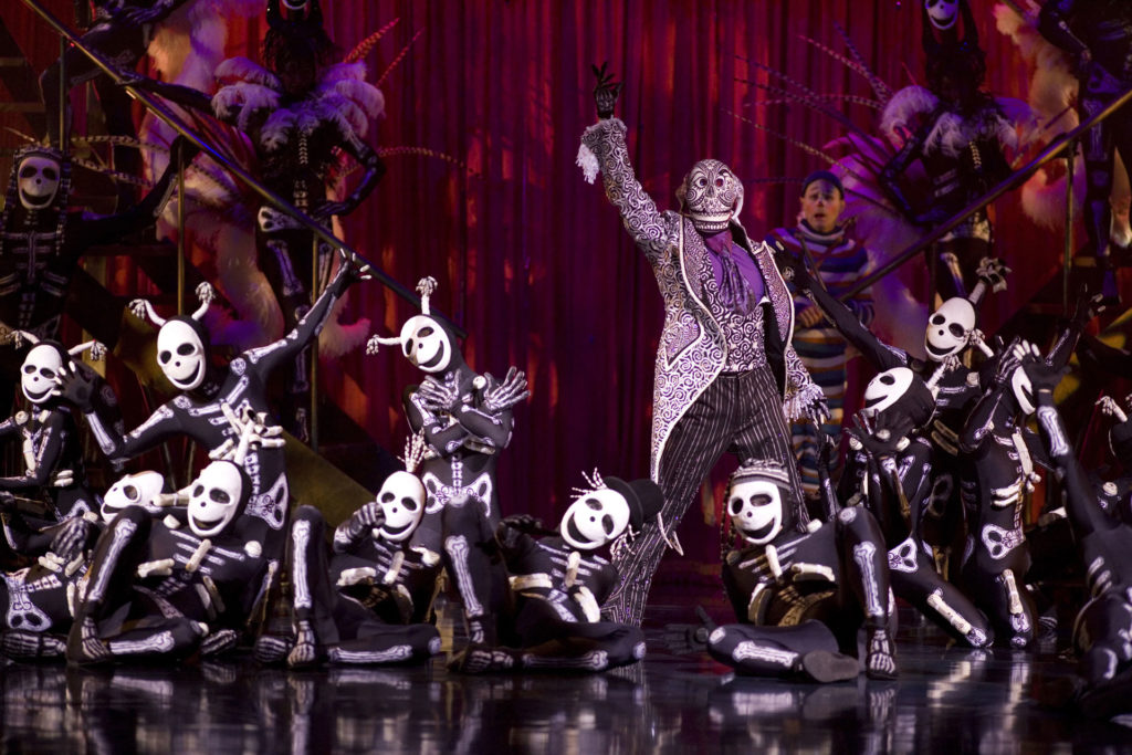 太陽馬戲團 KOOZA - 骷髏舞