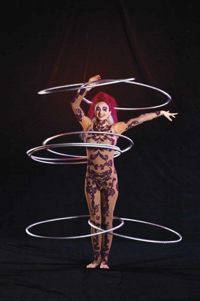 太陽馬戲團 KOOZA - 圈的完美操控