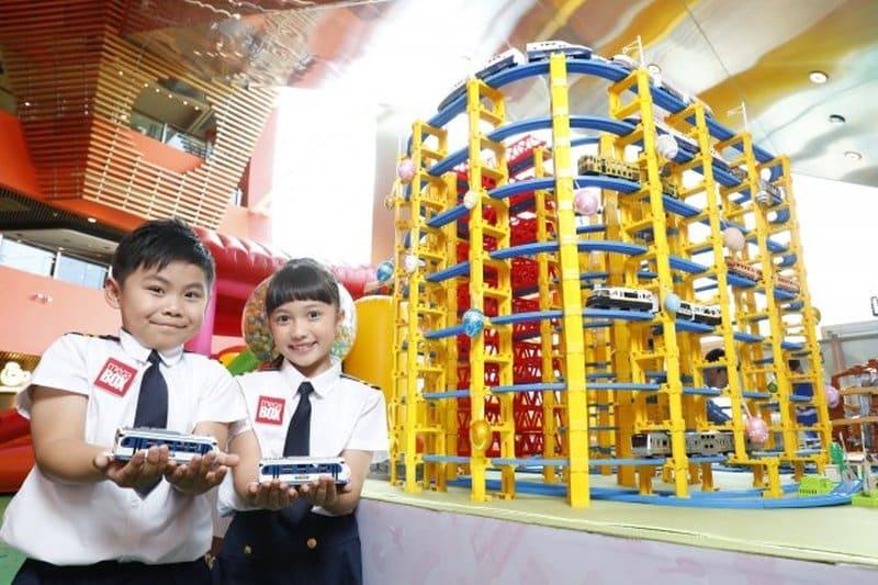 MegaBox × PLARAIL 繽紛鐵路派對上會舉辦大型 PLARAIL 鐵路場景模型展。