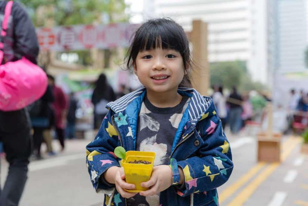 帶同小朋友來參加全城有機日 2018,讓孩子認識有機農業也是不錯的親子活動。