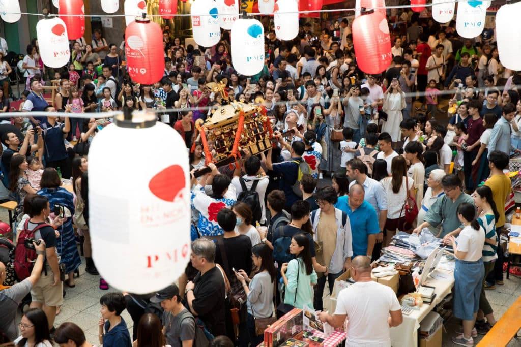 EN x NICHI緣日與福島縣合作在PMQ元創坊舉行春季祭典。