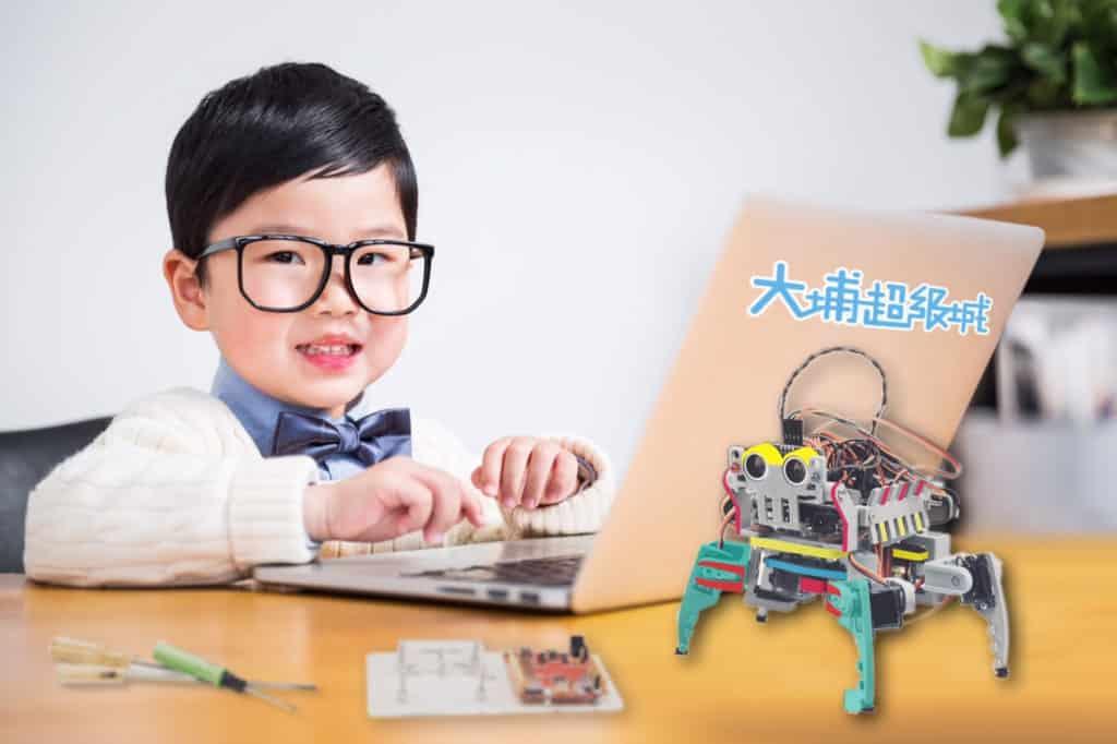 大埔超級城等新地商場設立了提倡創意科技的S.T.E.A.M體驗館。