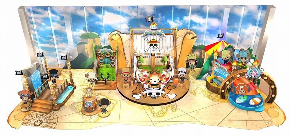 今次索柏在 The ONE × ONE PIECE 索柏大冒險中擔任主角,化身為 11 款不同的 Cosplay 造型。