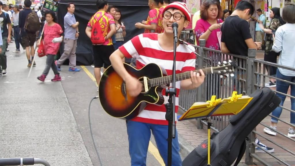 Wham Music Live × Easter Bazaar 表演者:日籍街頭藝人 Mr. Wally