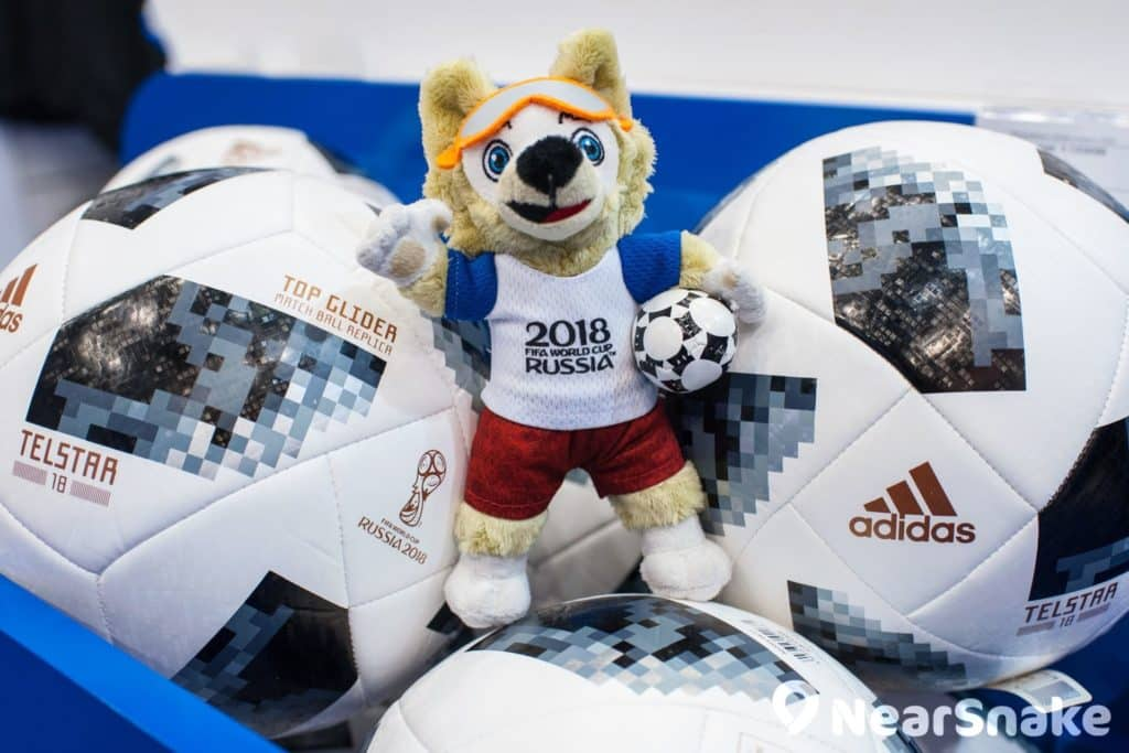 2018 俄羅斯世界盃吉祥物是一隻名為「扎比瓦卡(Zabivaka)」的卡通狼。