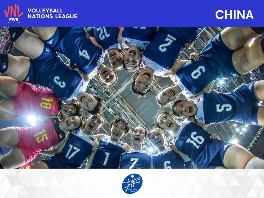 FIVB 世界女排聯賽 2018 香港站參賽球隊:中國女排,世界排名為第 1 位。