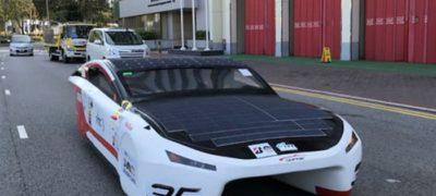 SOPHIE—IVE 的太陽能車驅動未來