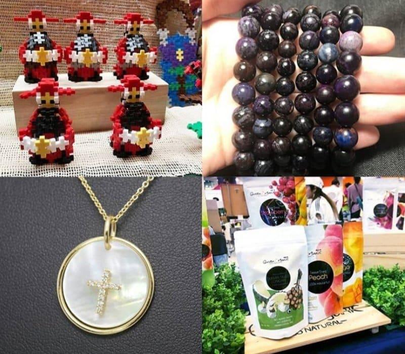 淘大商場 × LOCOLOCO 週末市集一連三星期舉行,每星期各有 20 多個手作及設計品牌參與。