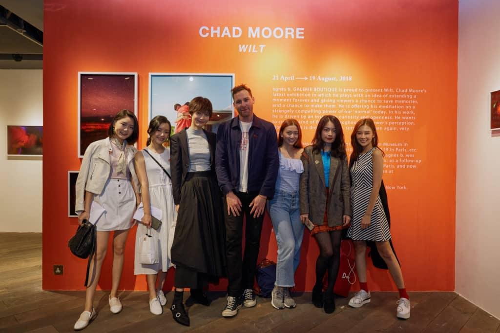 紐約著名攝影師 Chad Moore 於香港舉辦首個個人展覽「WILT」。