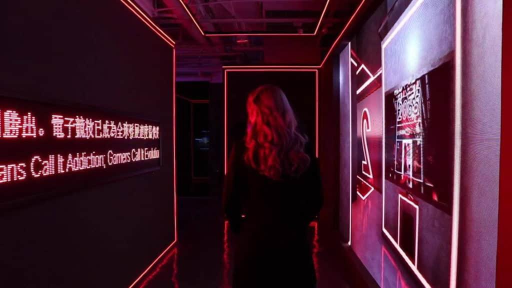 K11 舉辦的《GAME UP:DIGITAL PLAYGROUND》多媒體藝術展覽,融合電競、藝術與文化,讓觀眾以正面態度認識電競。