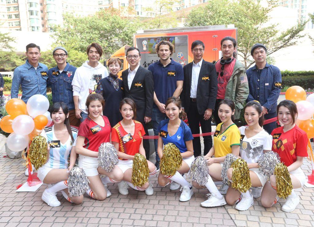 奧海城、荃新天地、屯門市廣場 3 大商場會與 ViuTV 合作,舉辦電視直播球賽派對活動。