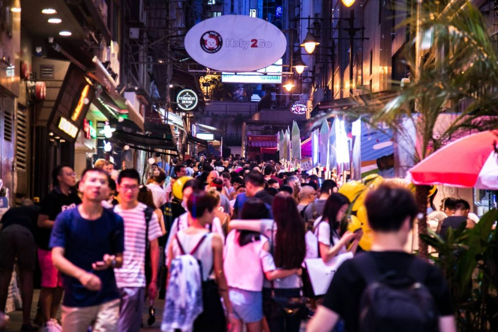蘭桂坊音樂啤酒節這個香港的夏季年度盛事,每年均吸引眾多外地遊客與香港人參與,氣氛年年嗨翻。