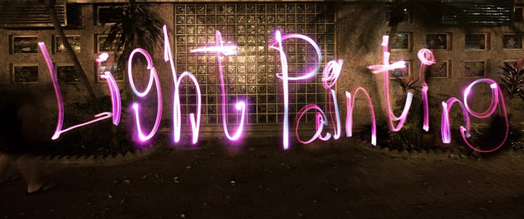 illuminate! 光影遊樂園現場會有專業攝影師,指導遊人如何拍攝光影塗鴉。