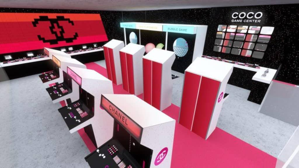 Chanel Coco Game Center 將擺下彩妝擂台,並設置不同遊戲區。