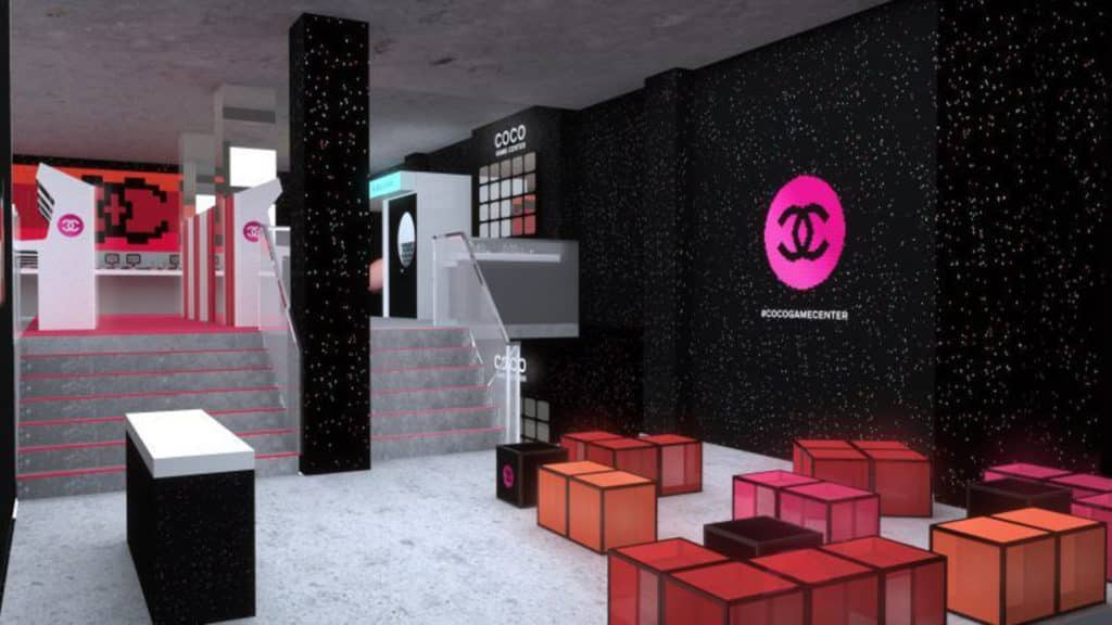 Chanel 彩妝遊戲中心 Coco Game Center 即將登陸香港中環太平行。