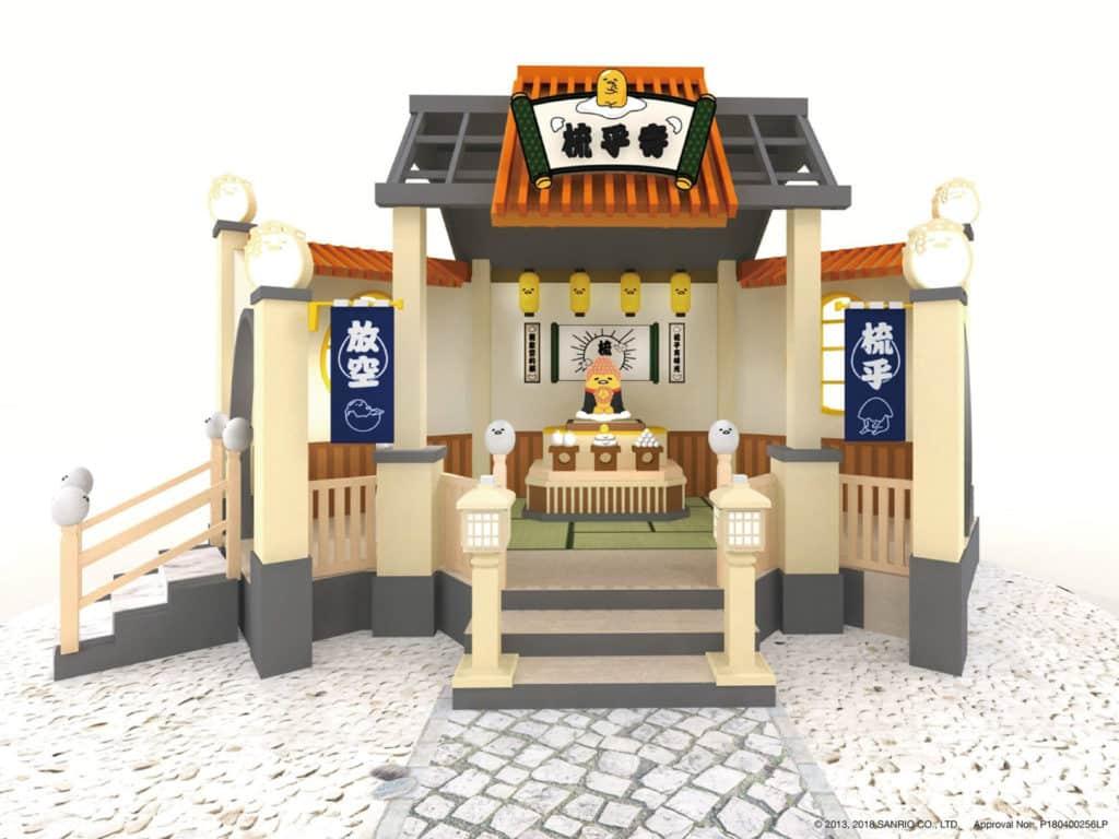 旺角朗豪坊開設全球首間「梳乎寺」。