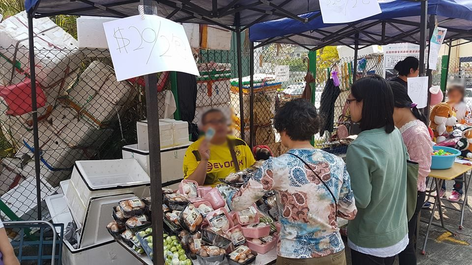 北區墟市節上會販賣街坊手作工藝、自家製產品、生活百貨、本地時令農產品。