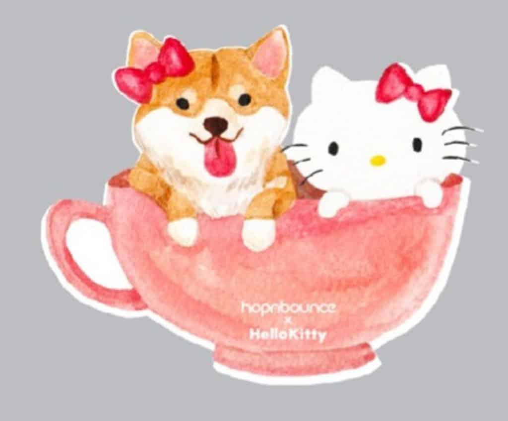hopnbounce x Hello Kitty貼紙