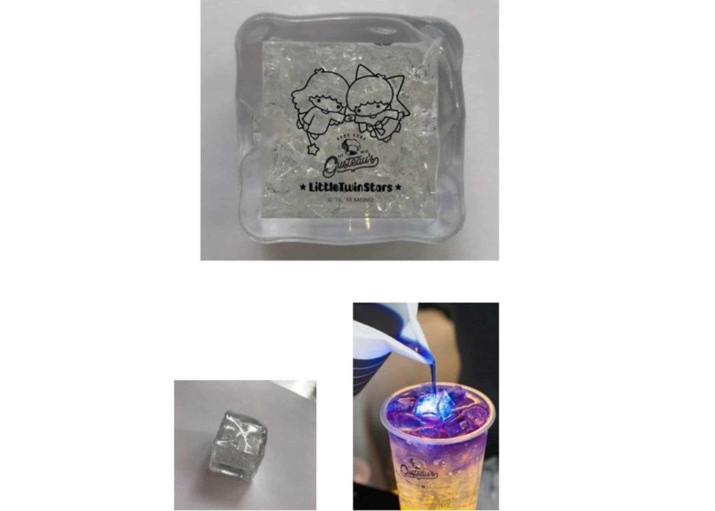 Sanrio characters × Crecra Fair 創意手作設計展上會有限定版 Little Twins Star 極光冰飲現身。