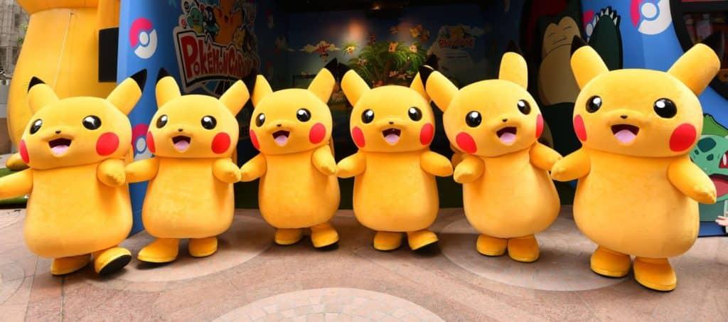 大家來到時代廣場 Pokémon 嘉年華,便可參與 6 隻 Pikachu 的跳舞派對,一起 Pika pika!