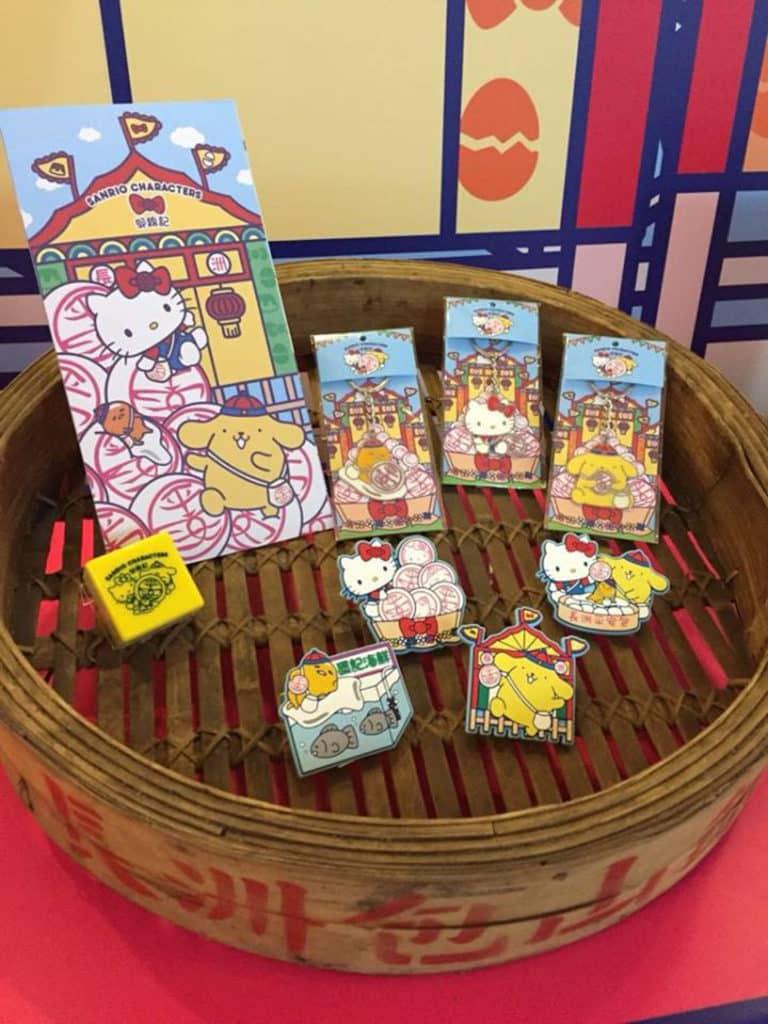郭錦記餅店也會有 Sanrio Characters 鎖匙扣與磁石貼發售。