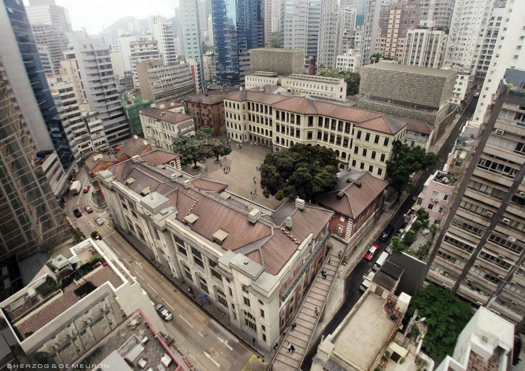 中區警署建築群活化成古蹟及藝術館「大館」,是全港最大型古蹟保育項目。